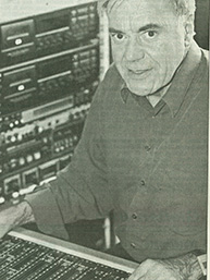 Hilmar Pauly at the mixing board